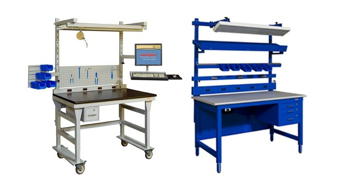 Assembly Line Workstations : Packaging and assembly tables photo gallery