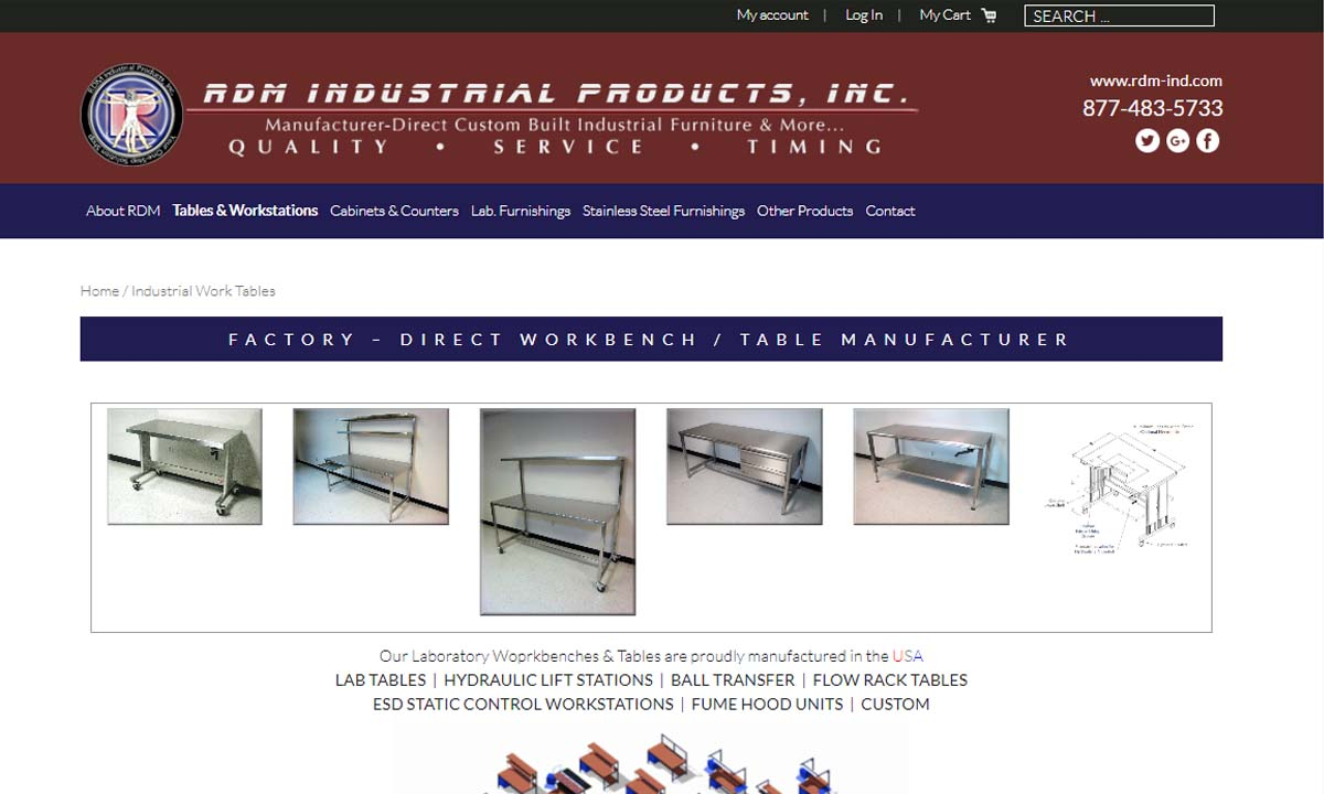 RDM Industrial Products Inc.