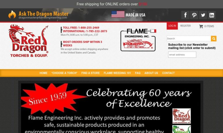 Flame Engineering, Inc.