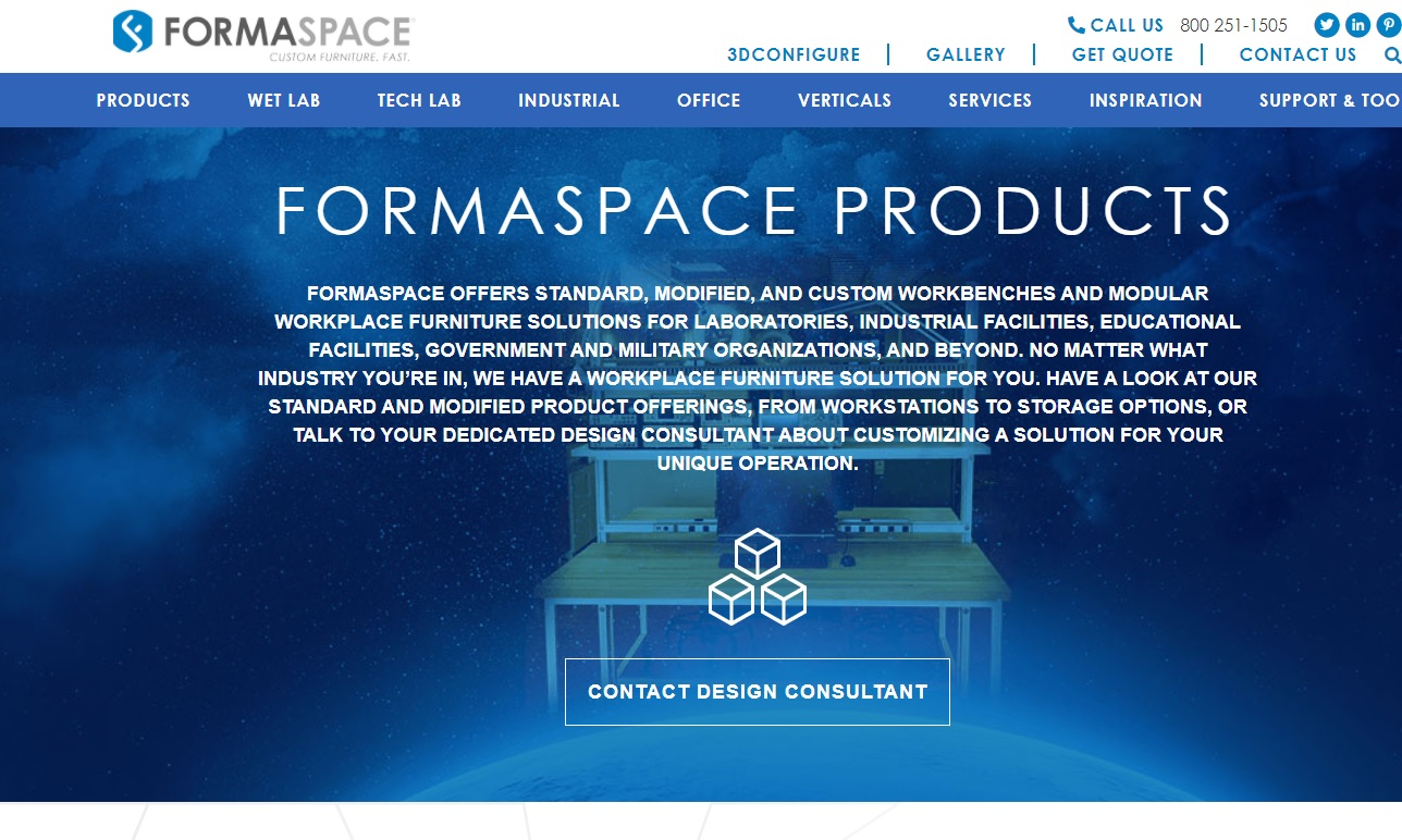 Formaspace Technical Furniture
